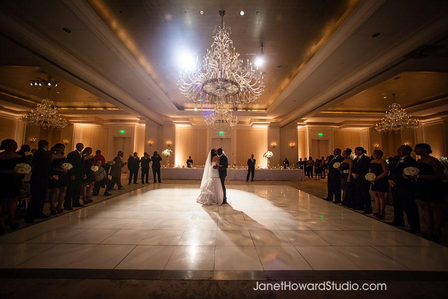 Wedding reception at St. Regis Atlanta