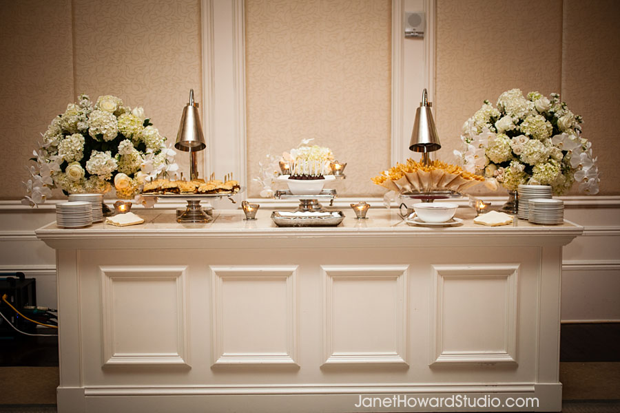 Wedding After party food display at St. Regis Atlanta