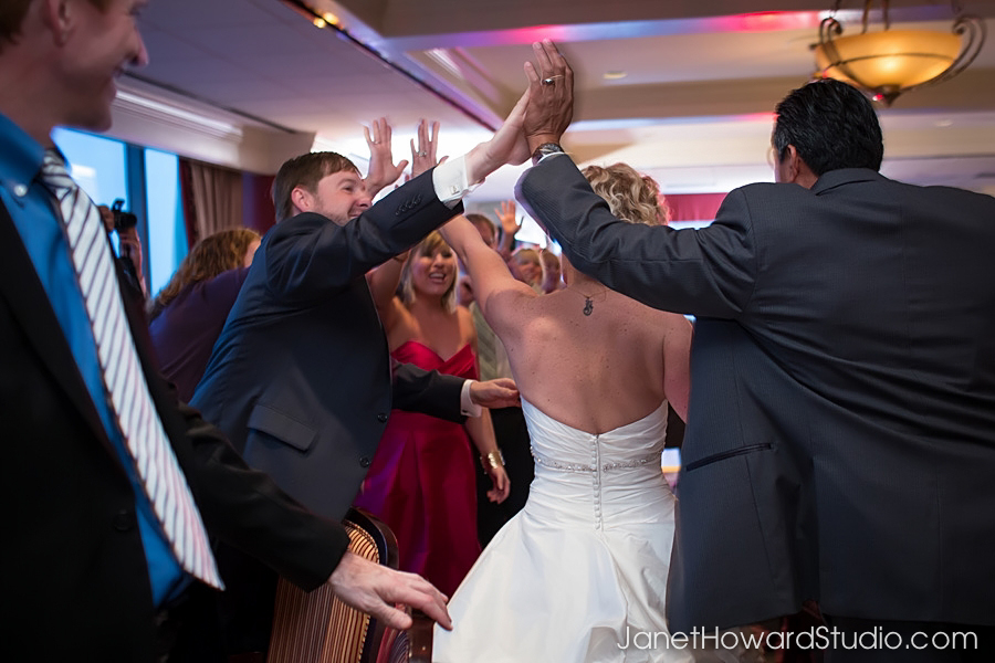 Wedding reception at The Georgian Club