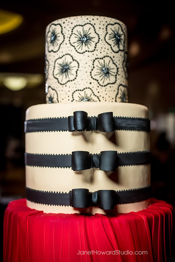 Valentino cake by For Goodness Cakes