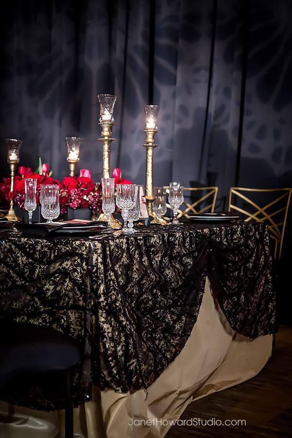 Valentino inspired tablescape