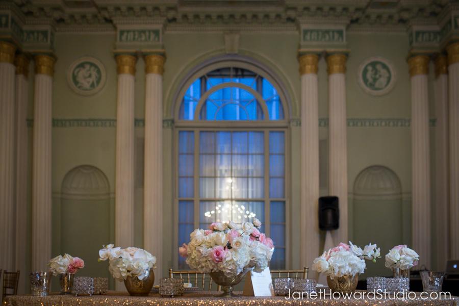 Wedding reception decor by F&G Weddings, Edge Design Group