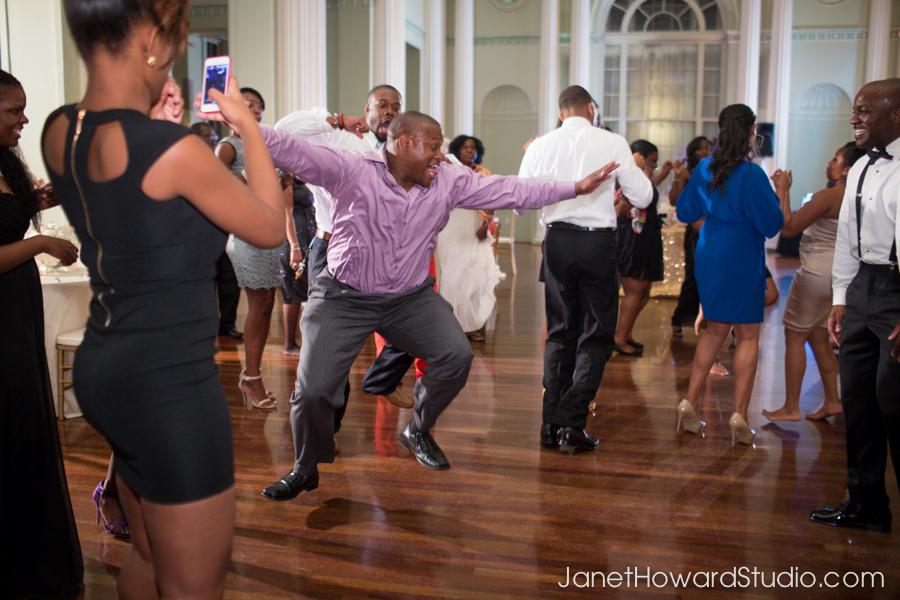 Wedding reception dancing at The Biltmore Atlanta