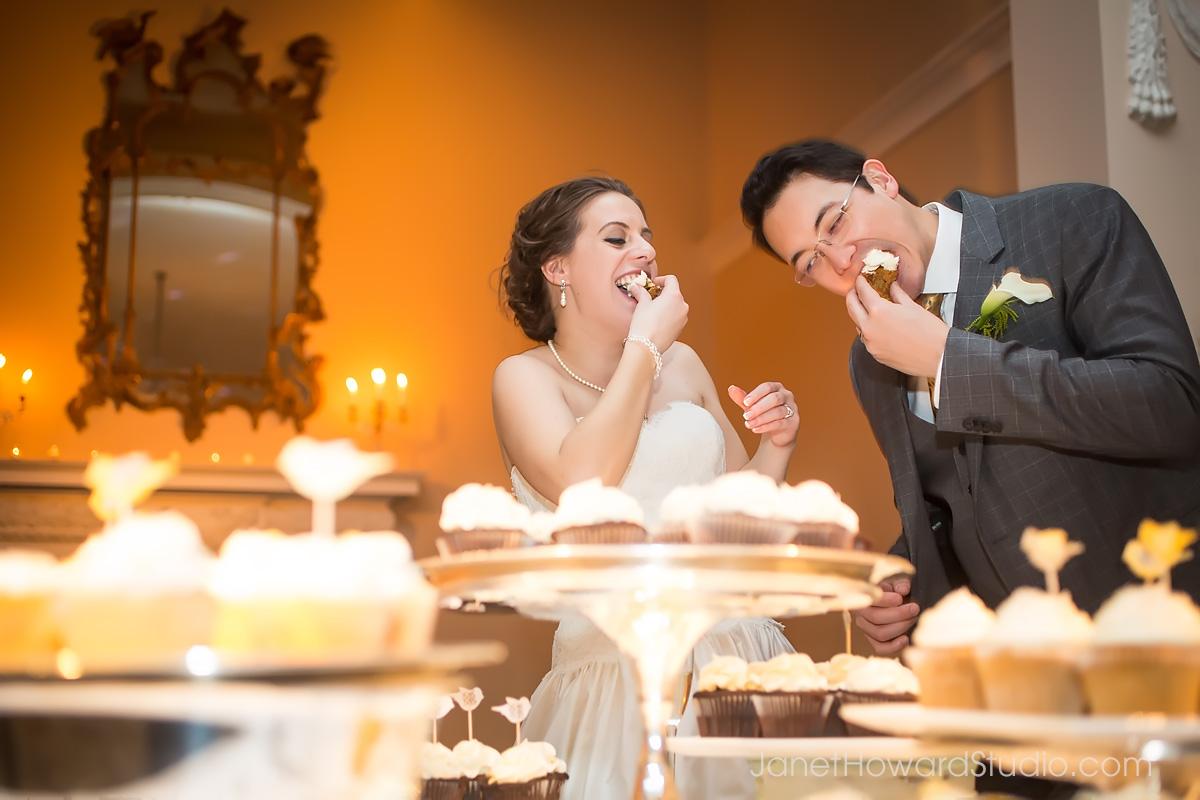 Wedding cupcakes at Piedmont Driving Club