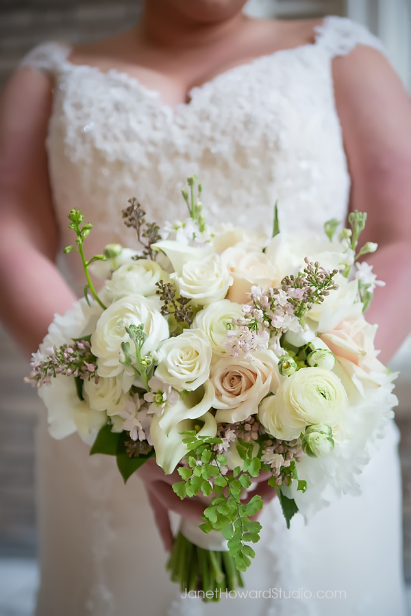 Bridal bouquet by Tulip
