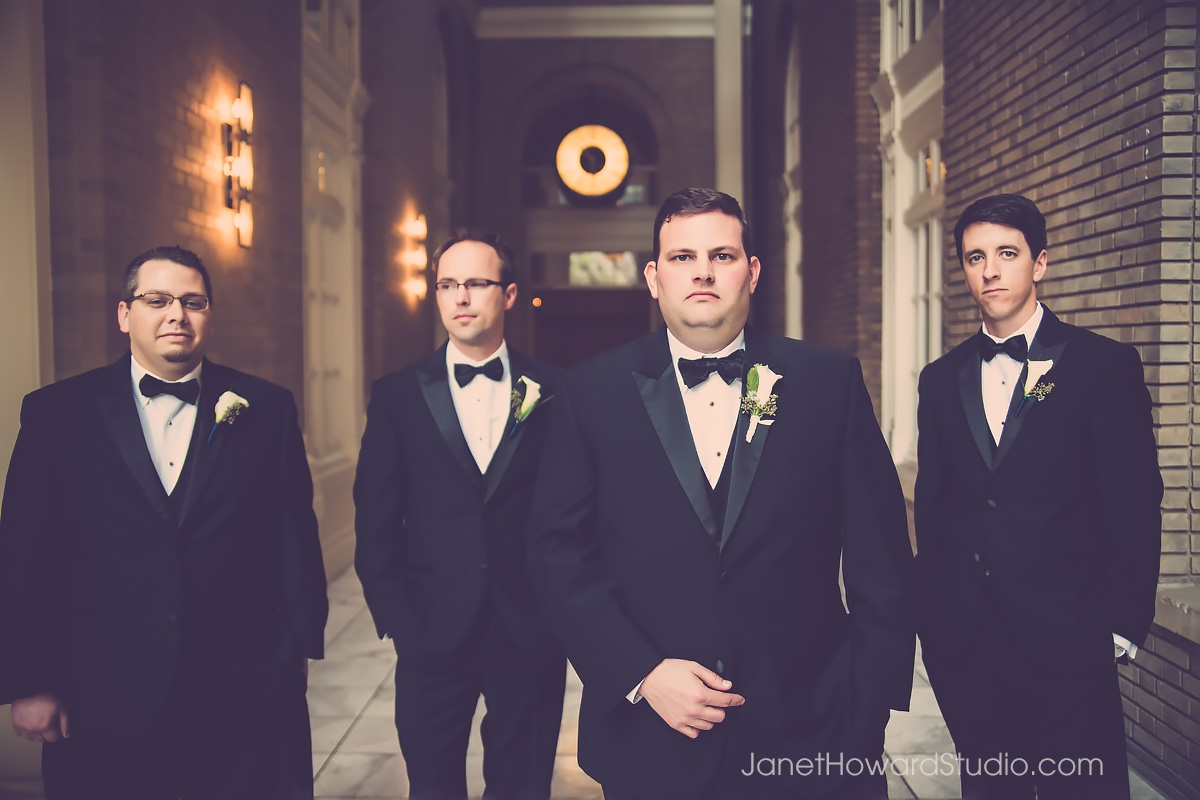 Groomsmen at the Georgian Terrace