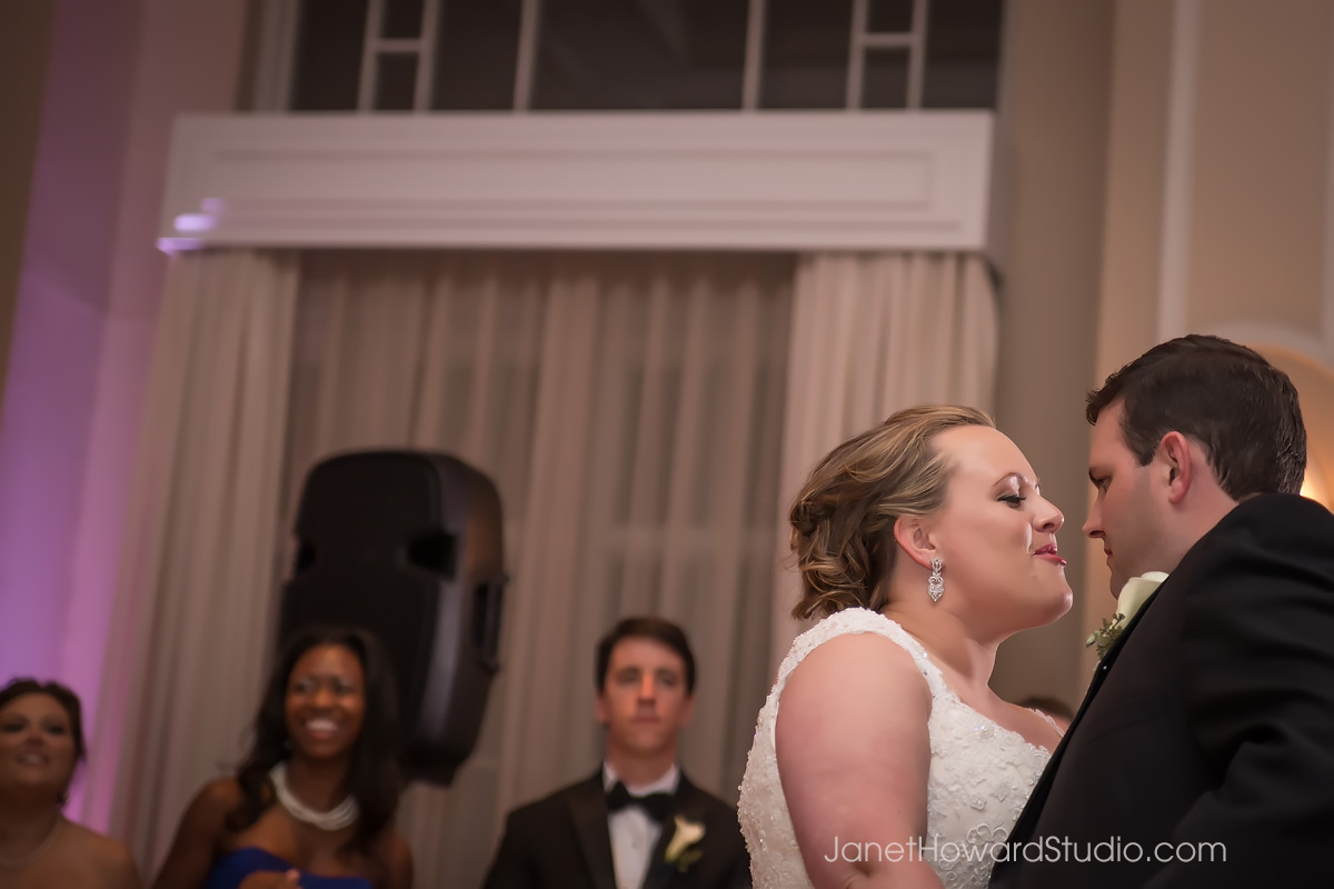 Bride and Groom First dance at Georgian Terrace