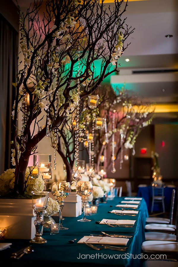 Wedding reception decor by F&G Weddings, Edge Design