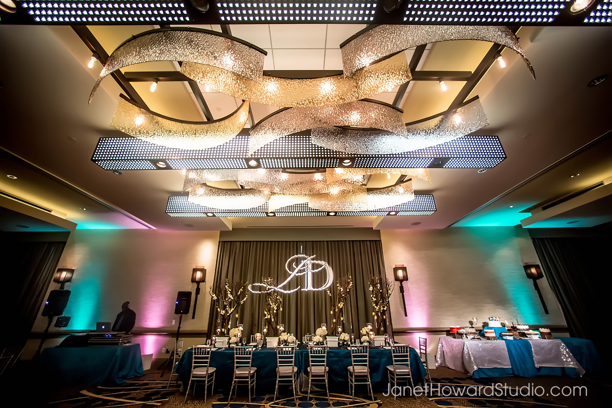 Reception decor by F&G Weddings, Edge Design Group, Papered Wonders