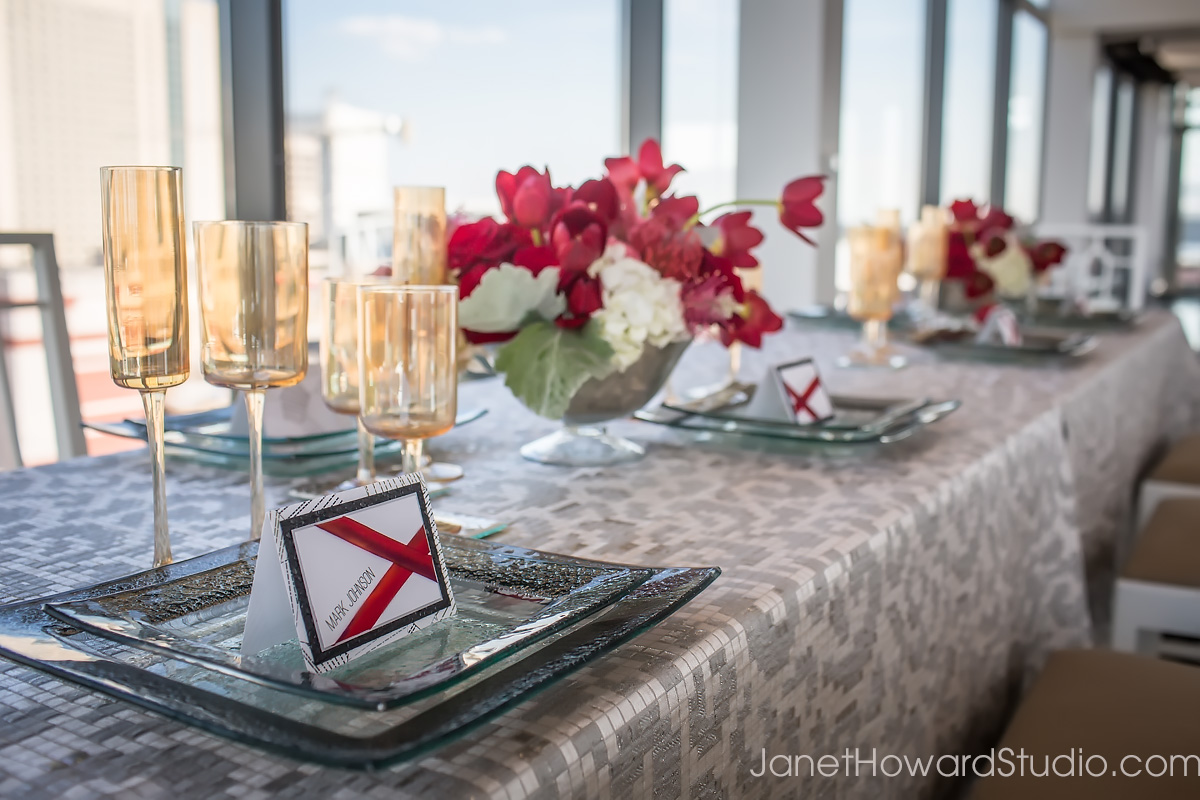 Styled shoot at Ventanas Atlanta