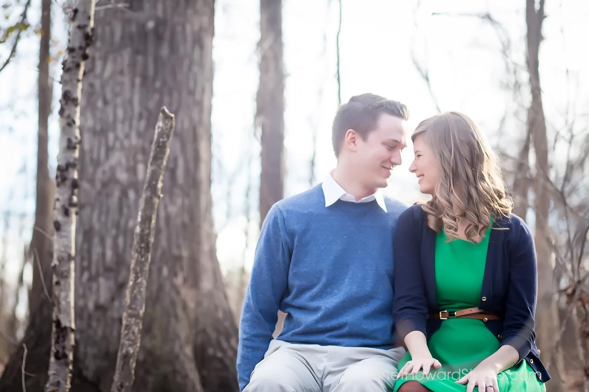Engagement session at McDaniel Farm Park