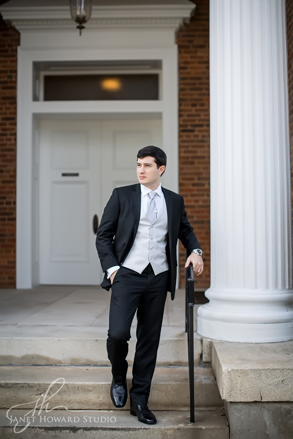 Groom at First Presbyterian Marietta