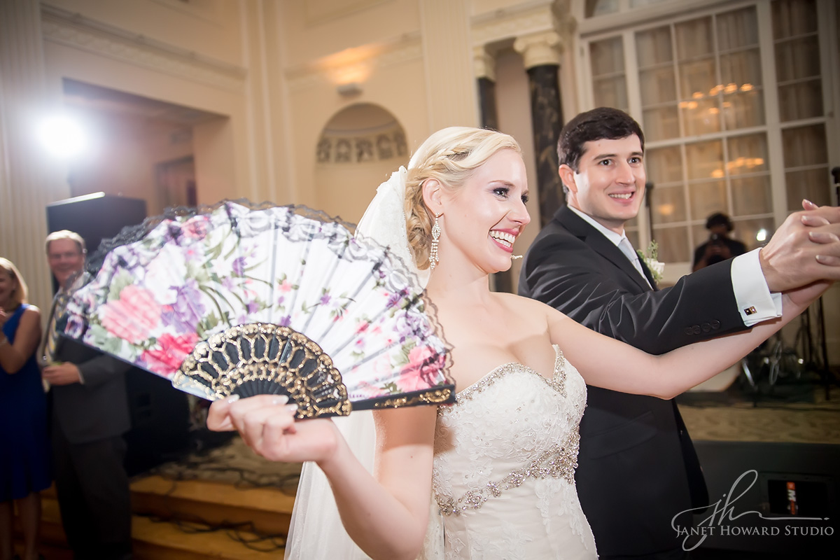 Wedding reception at the Biltmore Ballrooms Atlanta