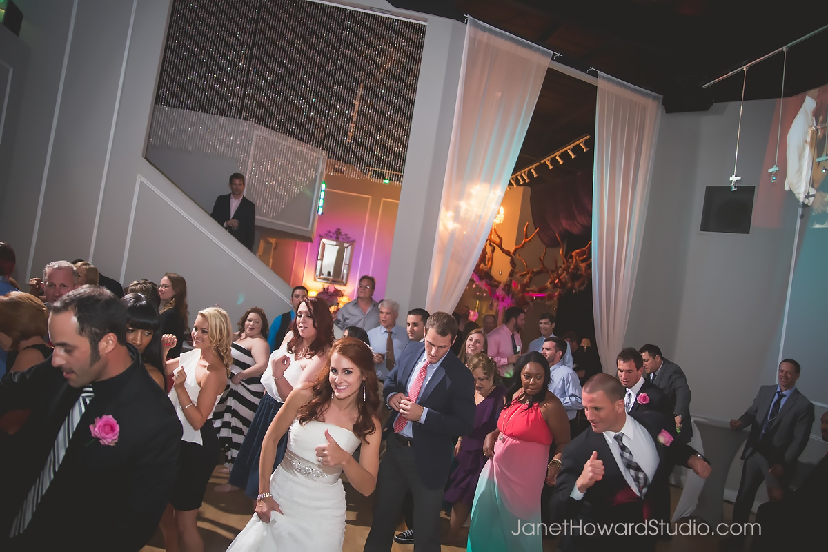 Wedding reception at Le Bam Atlanta