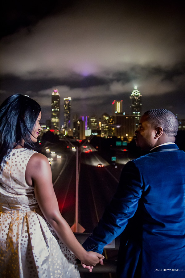 Atlanta Engagement Jackson Street Bridge