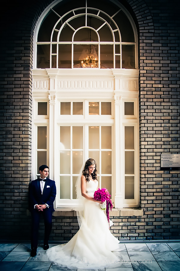 Bride and Groom at the Georgian Terrace