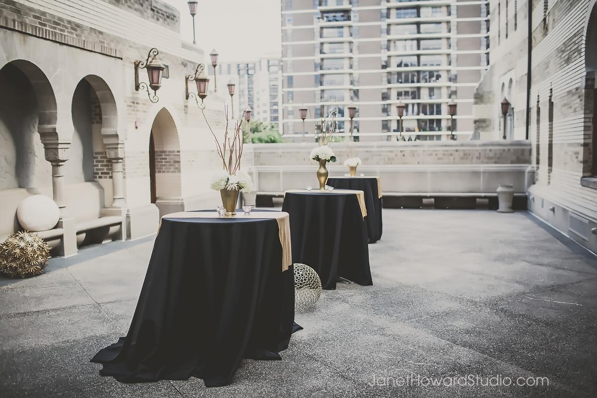 Fox Theater wedding reception