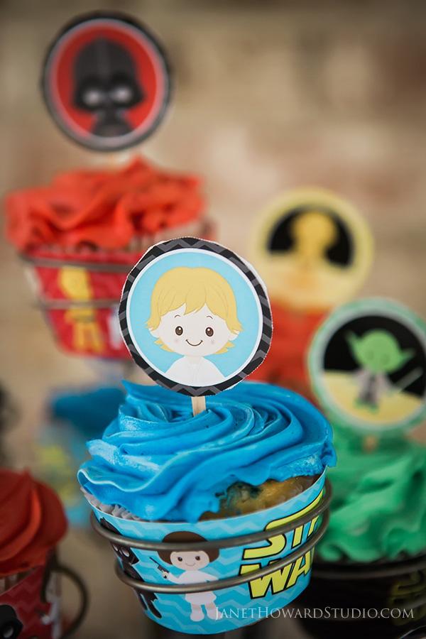 Star Wars Cupcakes