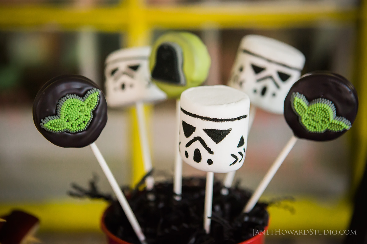 Star Wars Stormtrooper Marshmallows