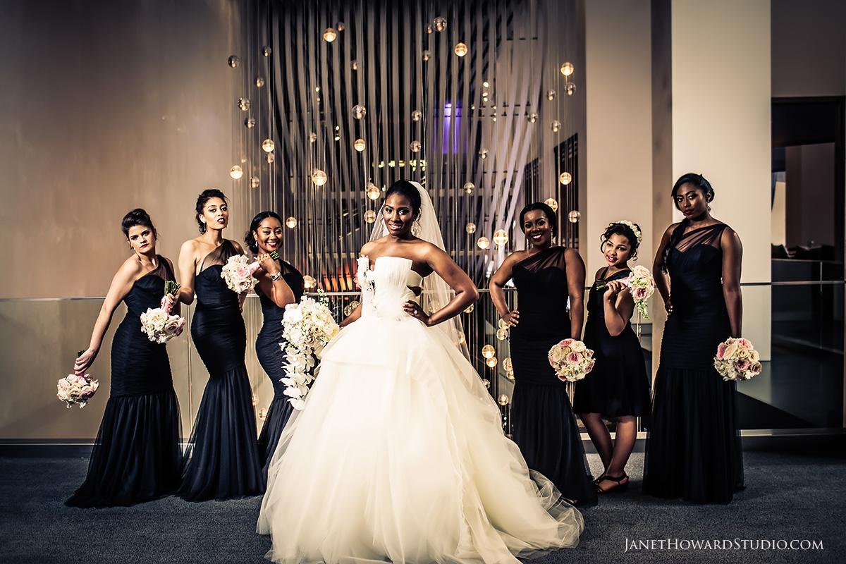 Bridesmaids | Wedding photos at W Midtown Atlanta