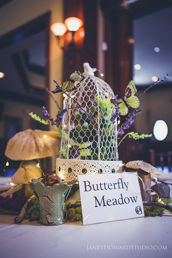 Peter Pan Themed Wedding Decor