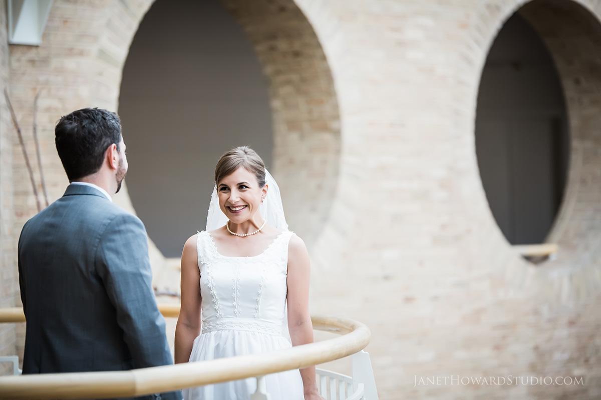 Fernbank Museum Wedding First Look