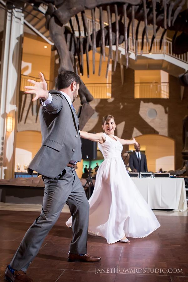 First dance at Fernbank Museum Wedding reception