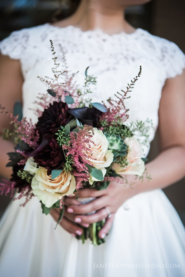 Bride bouquet by Candler Park Flowers