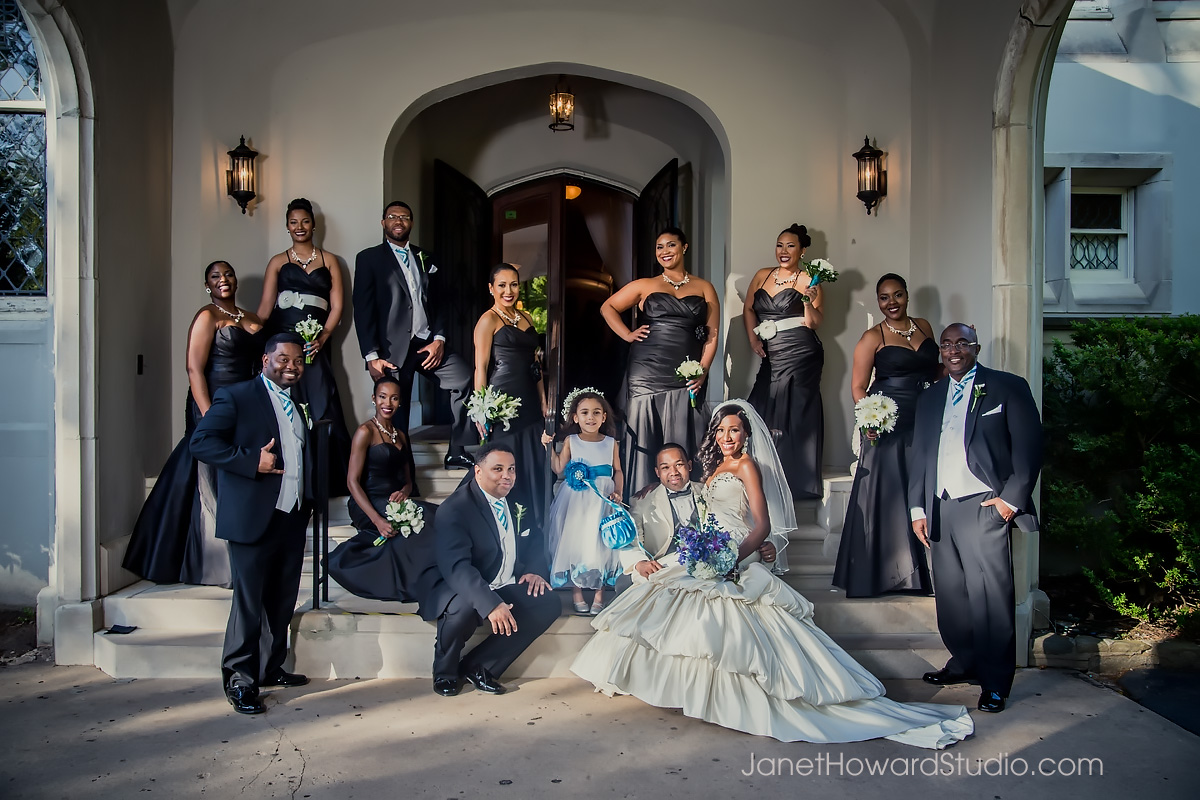 Bridal Party at Callanwolde