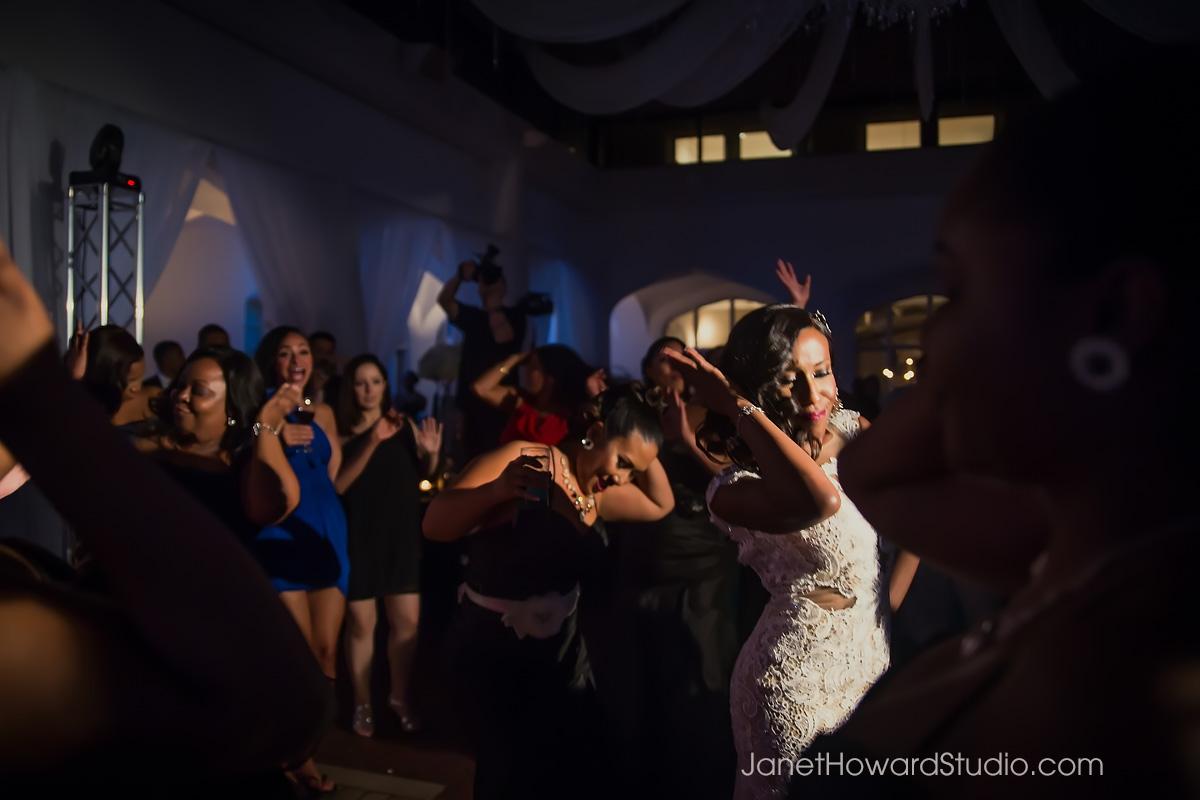 wedding reception at Callanwolde