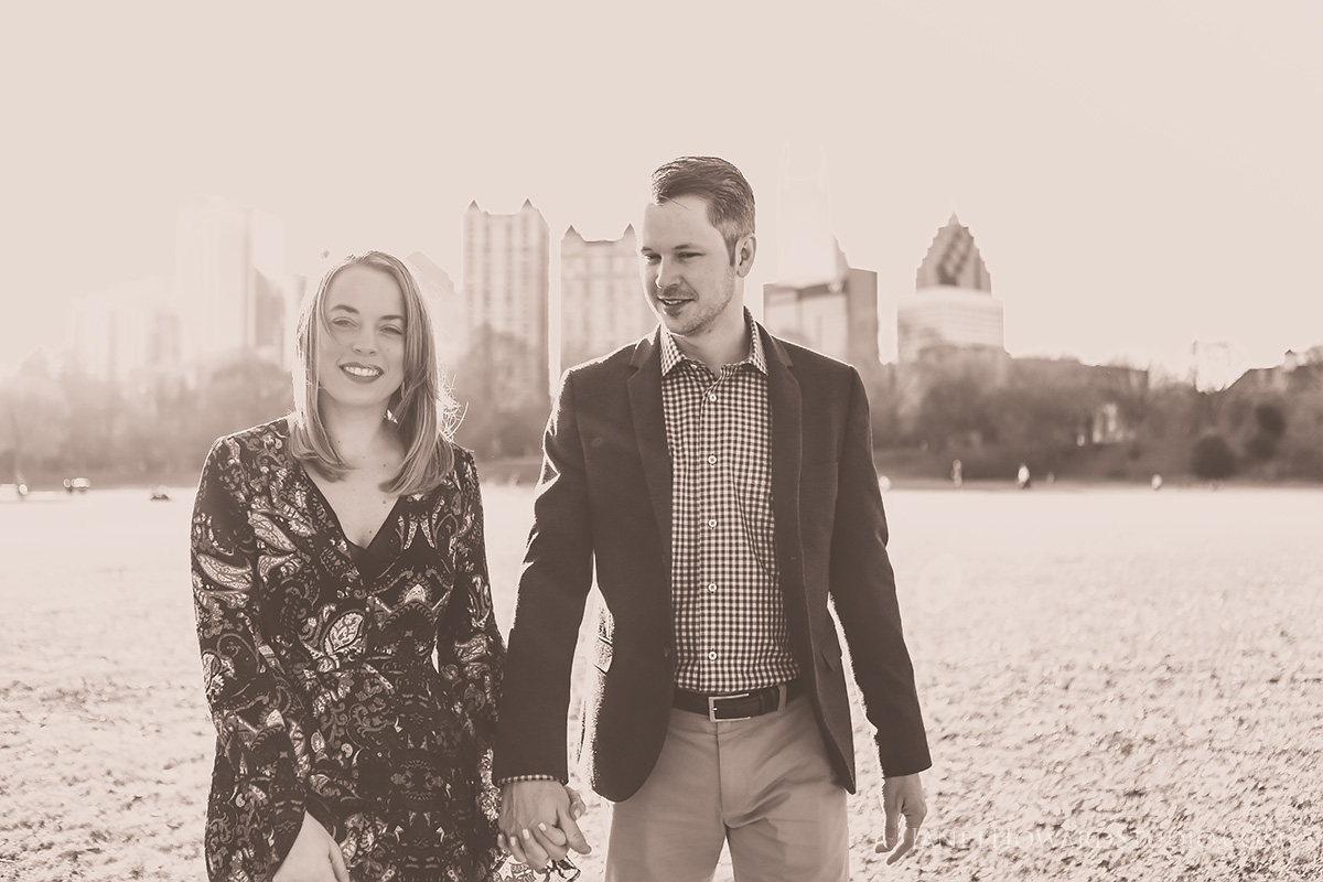 Piedmont Park engagement photos