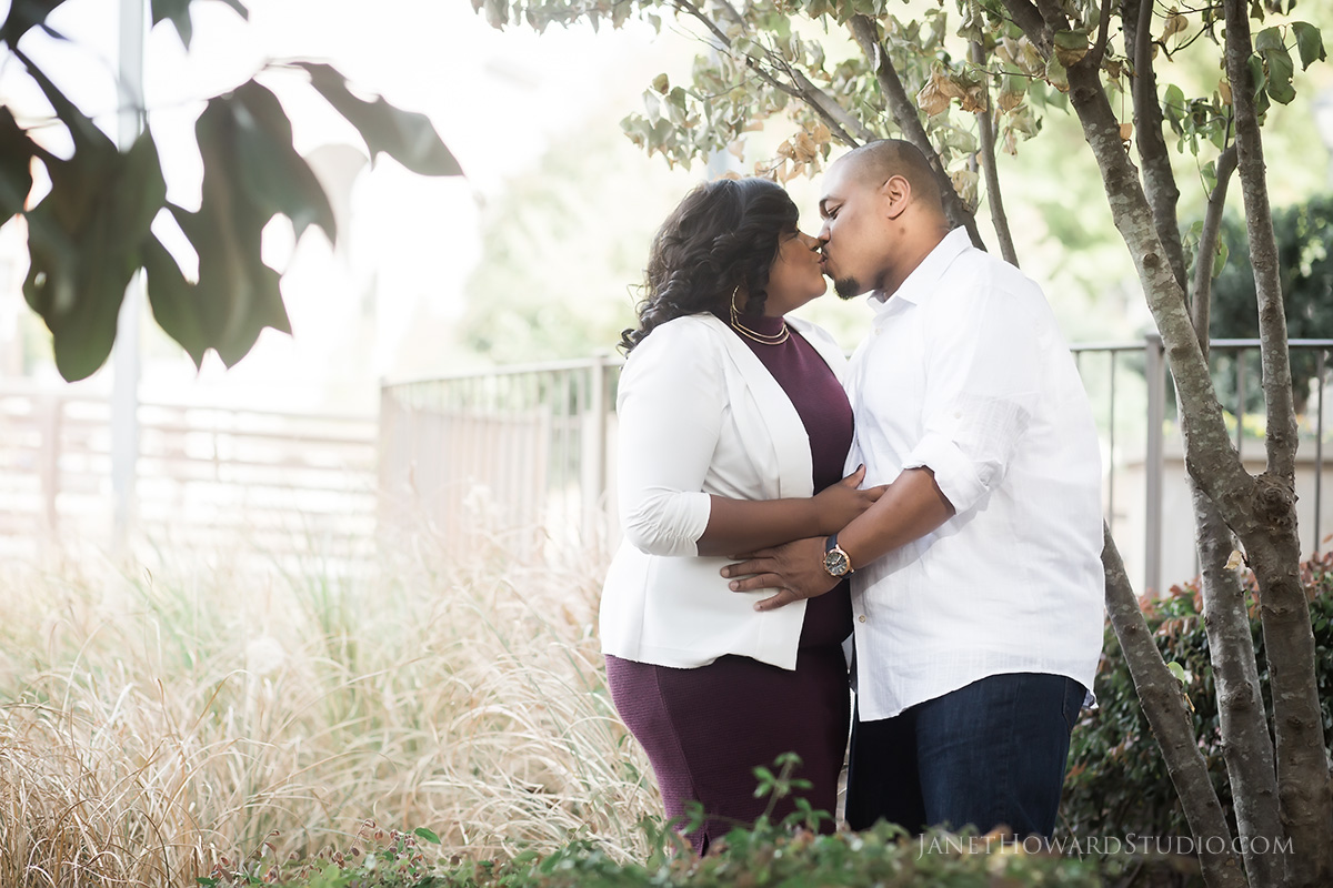 Engagement photos at Millennium Gate