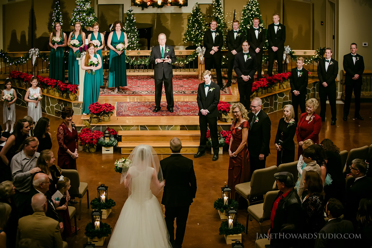 Christmas Wedding Ceremony