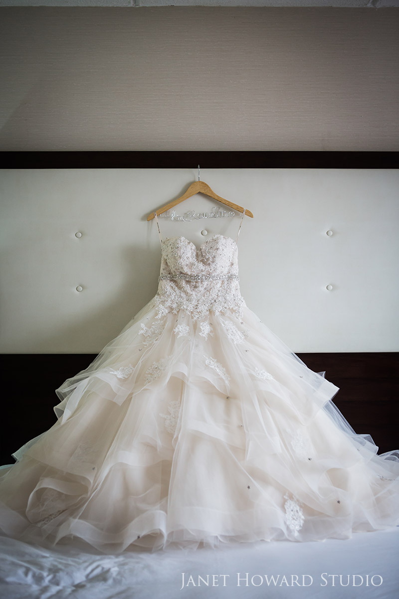 wedding gown from Encore Bridal