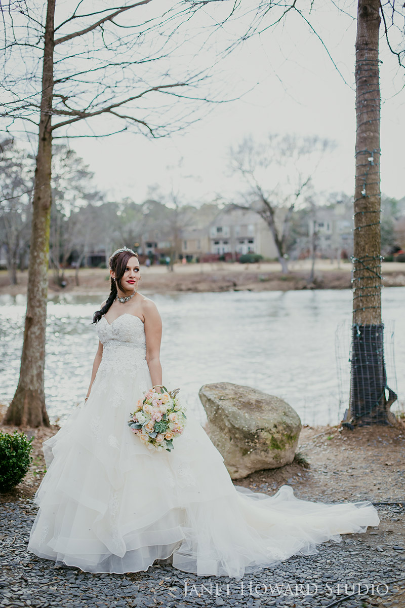 Bride at Ray's on the River