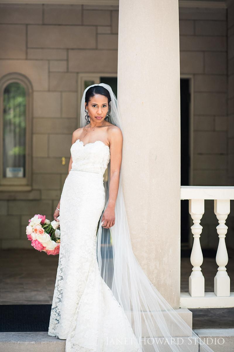 Bride at Wimbish House