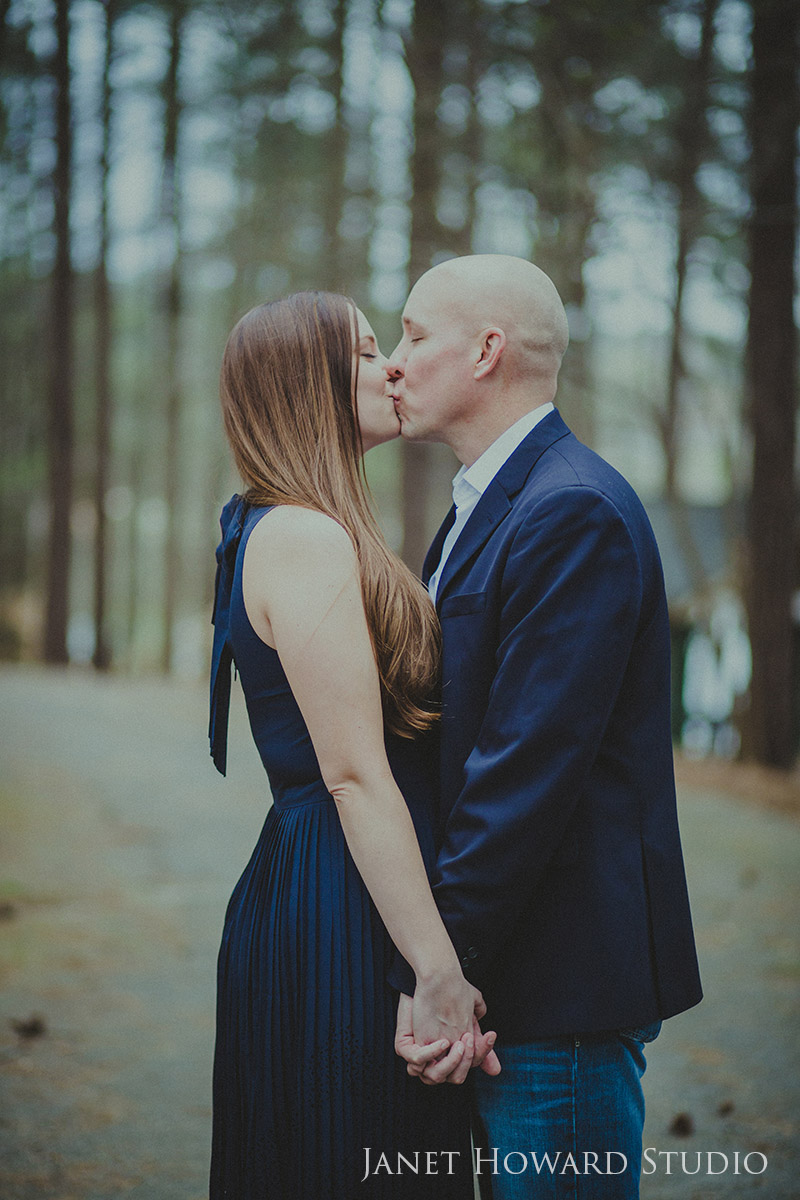 Engagement Photos at Murphey Candler Park