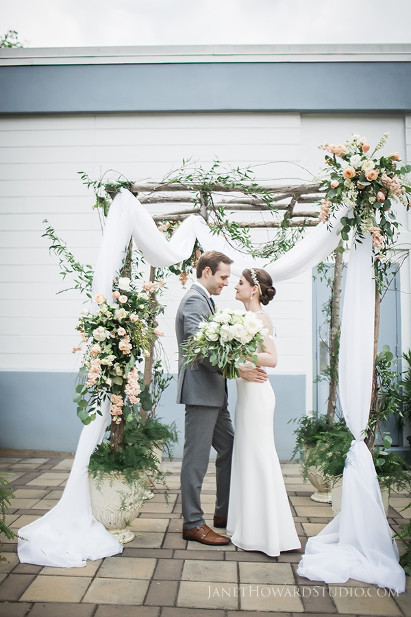 Wedding at Town and Gown Theater