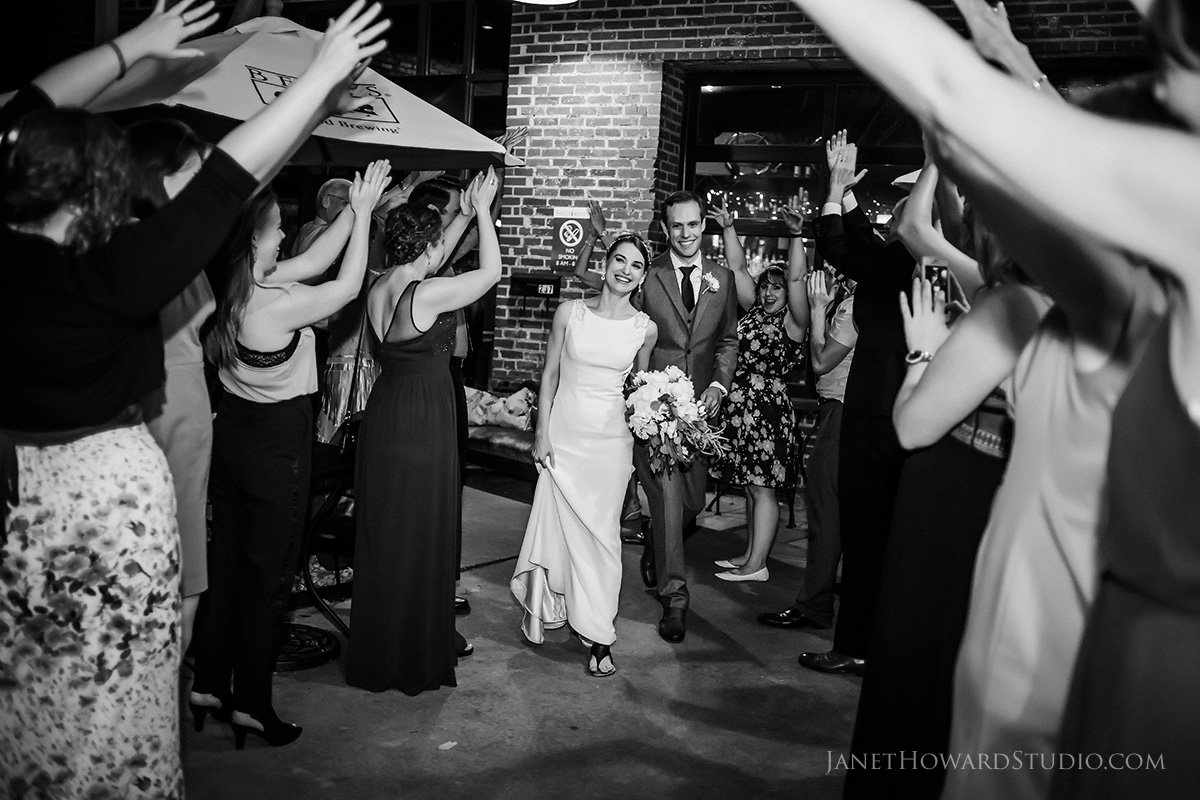 wedding reception at Hendershots in Athens