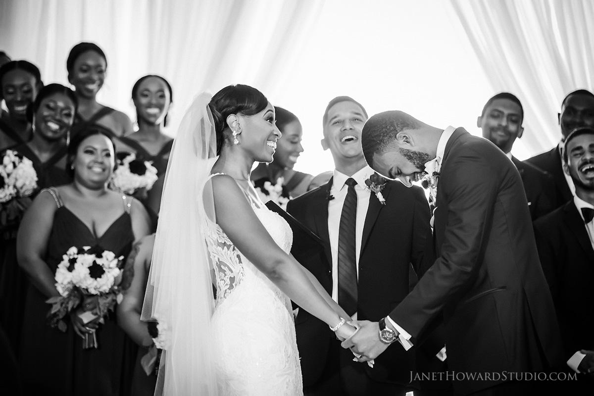 Wedding Ceremony at The Venetian Room Atlanta