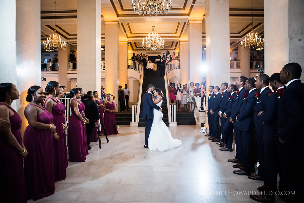 Wedding at The Venetian Room Atlanta