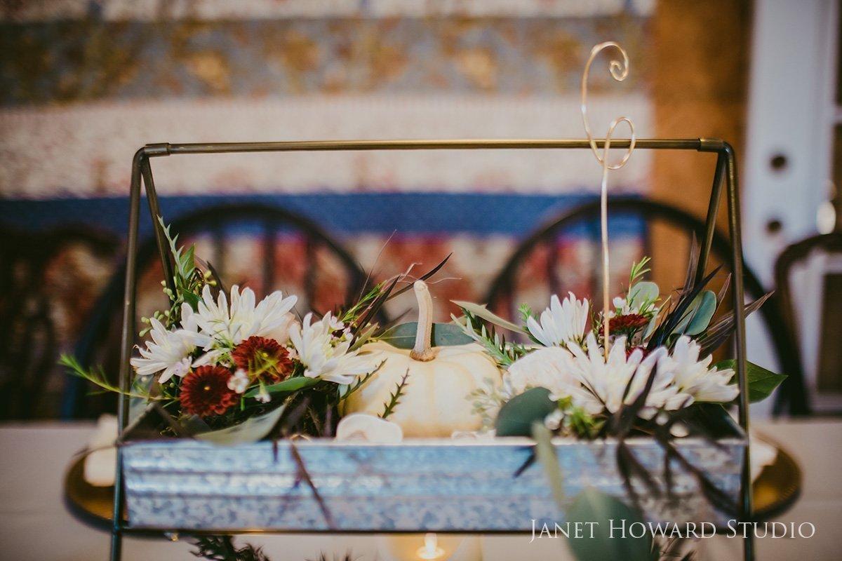 barn wedding centerpieces