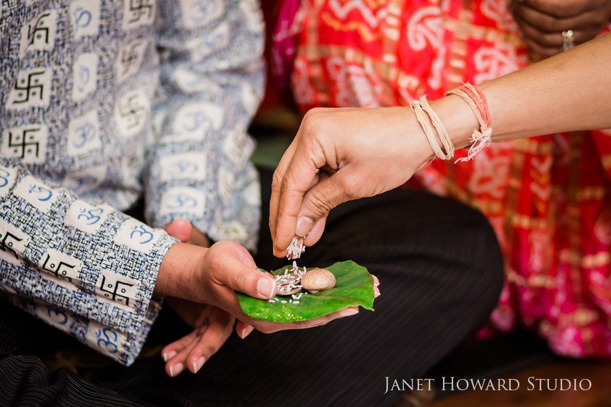Hindu pre wedding tradition