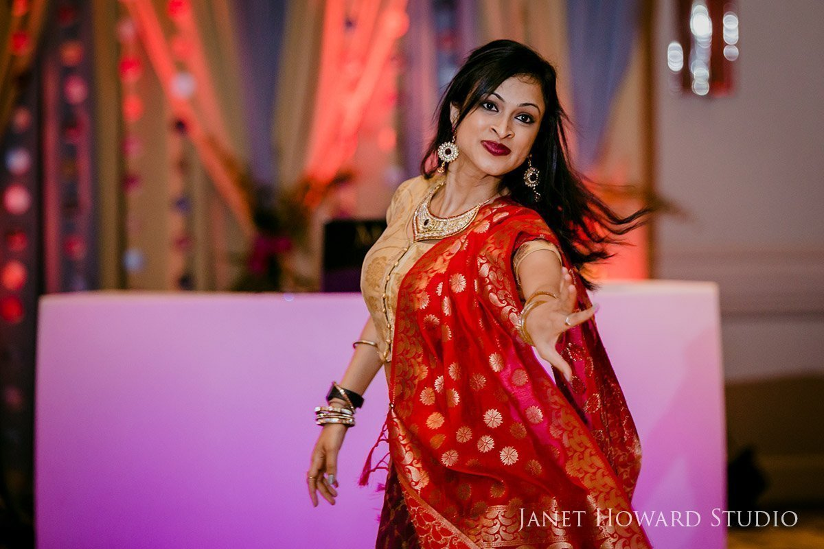 dancing at Sangeet