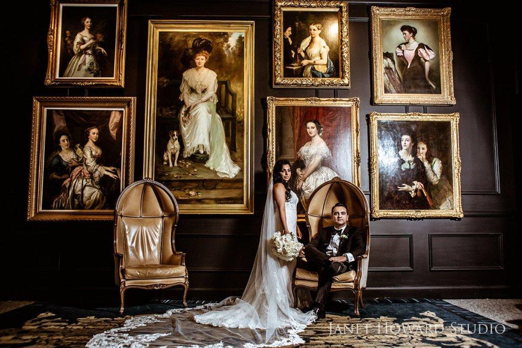 wedding photo at Ritz-Carlton Atlanta