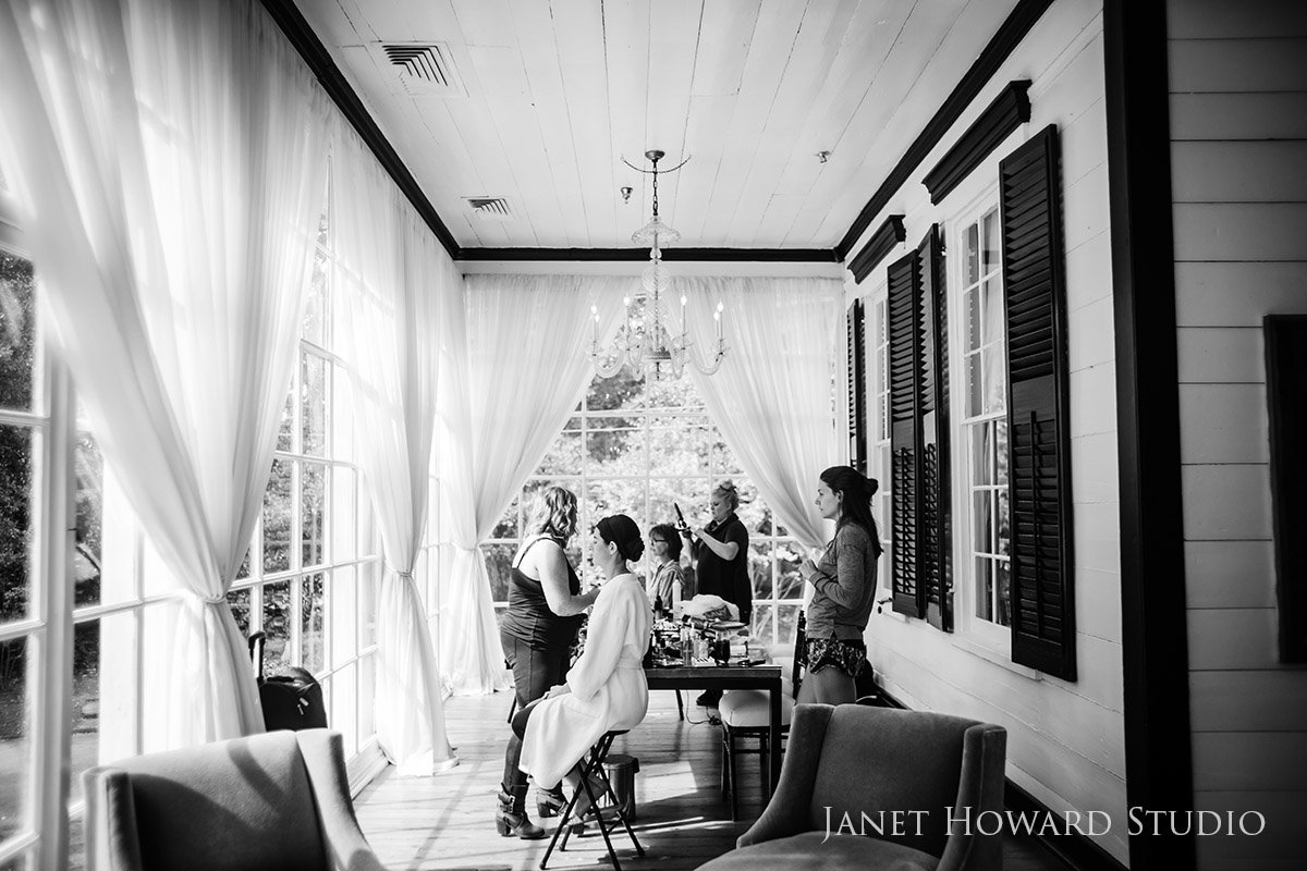 Getting Ready for a Wedding at The Estate, Buckhead