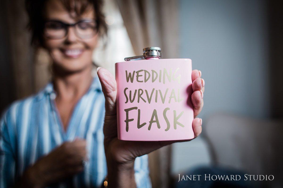 Wedding Survival Flask-Wedding Essentials
