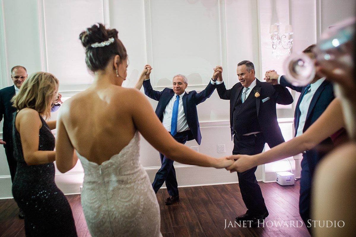 Wedding Reception at The Estate in Atlanta, Georgia