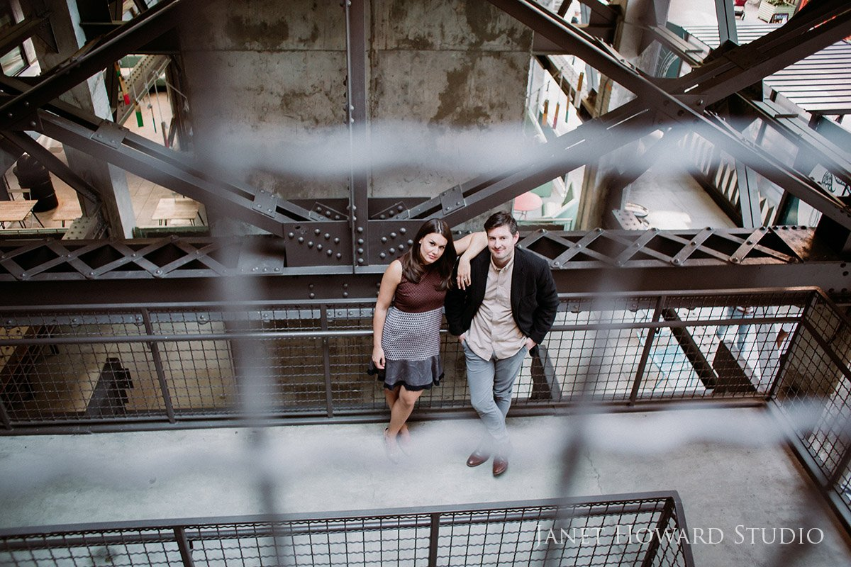 Ponce City Market Engagement Photo Shoot