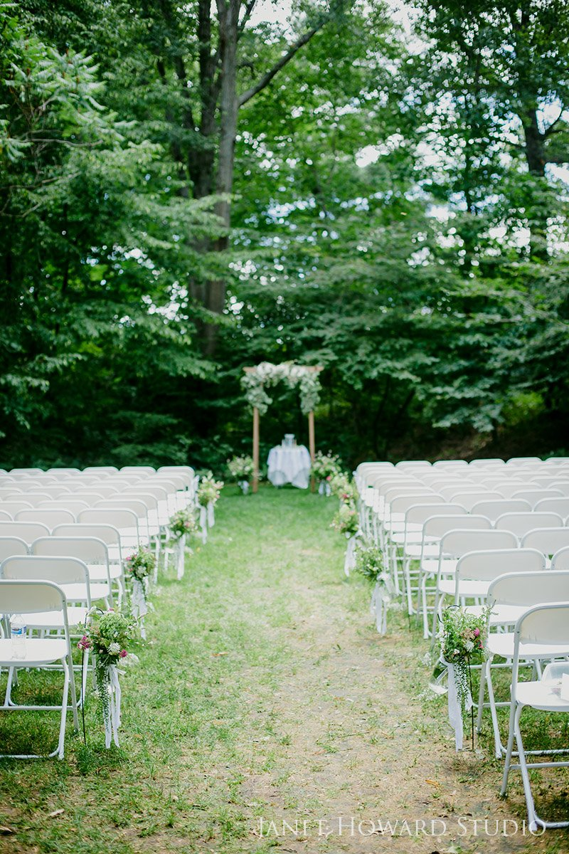 Botanical Garden Wedding Ceremony